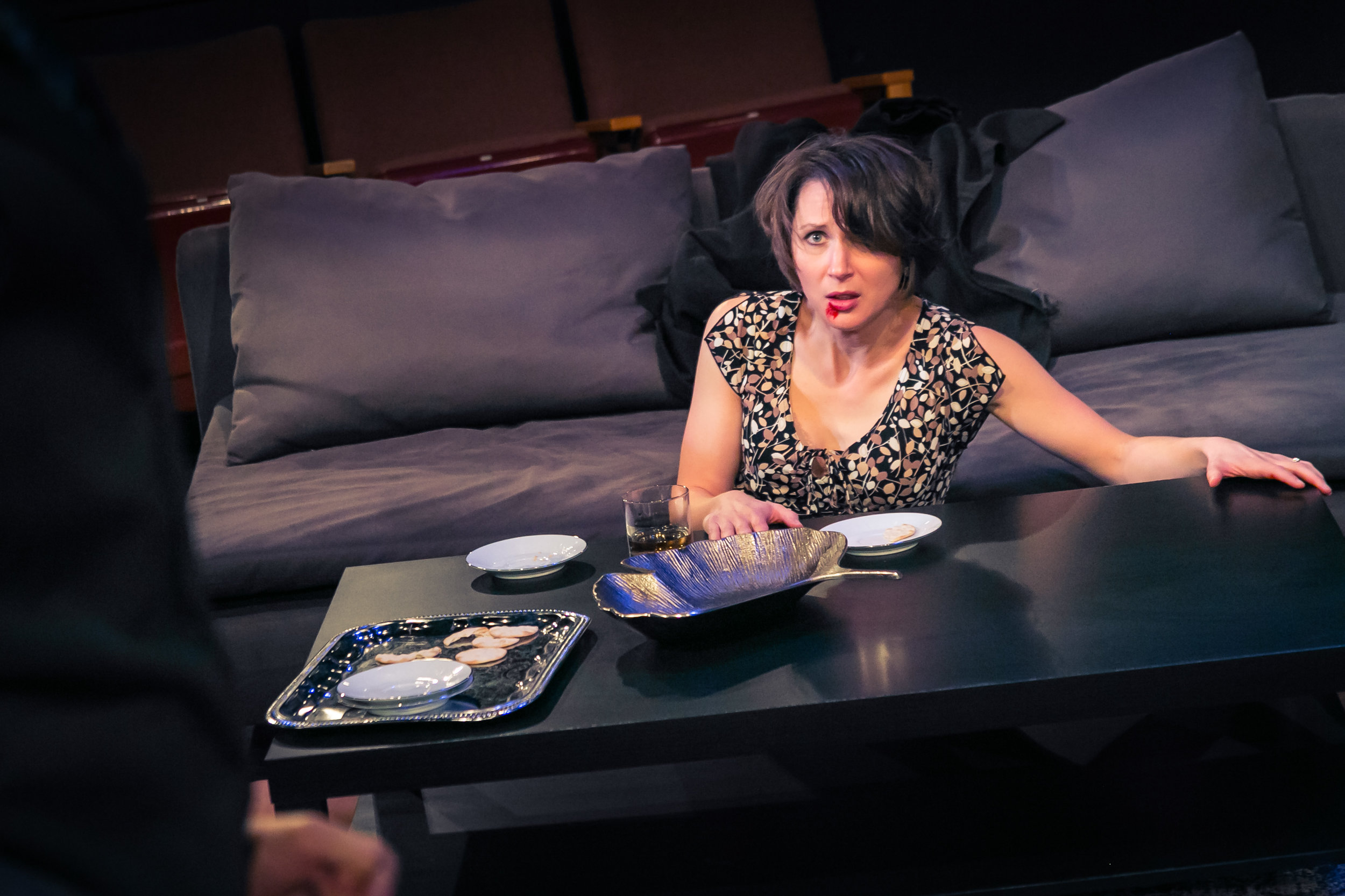 Kate Glasheen in Disgraced - The Playhouse SA