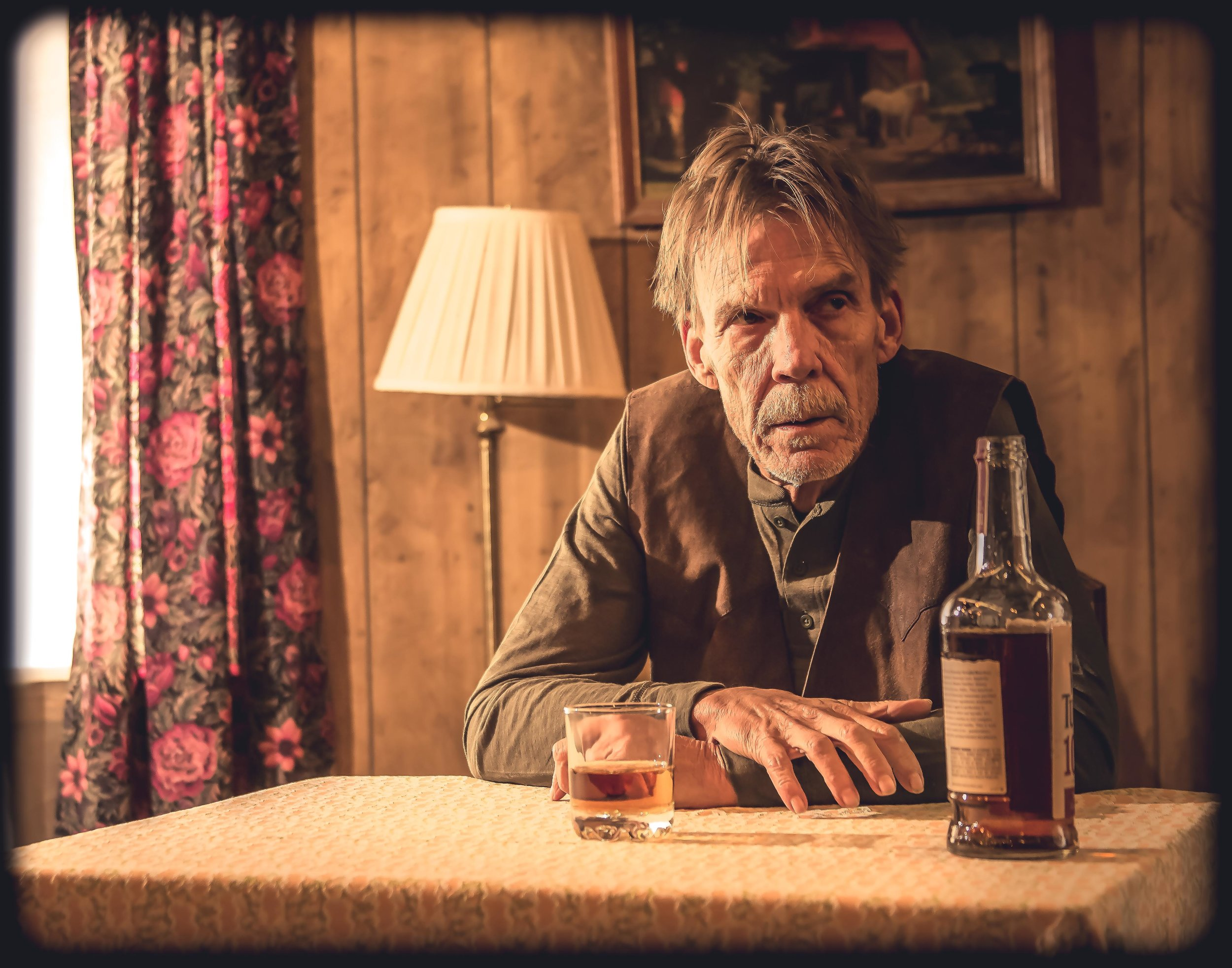 Bill Gundry as The Old Man in Fool for Love