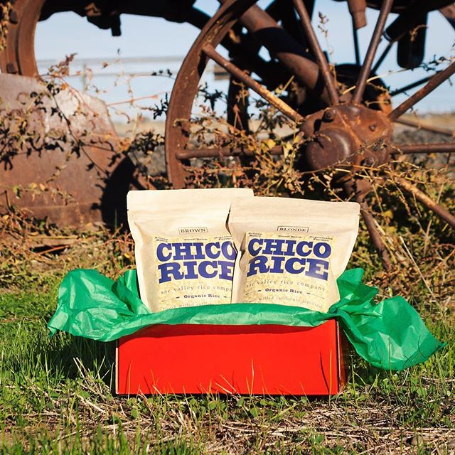 CHICO RICE gift boxes are on sale now! Get free shipping at chicorice.com 💚❤️