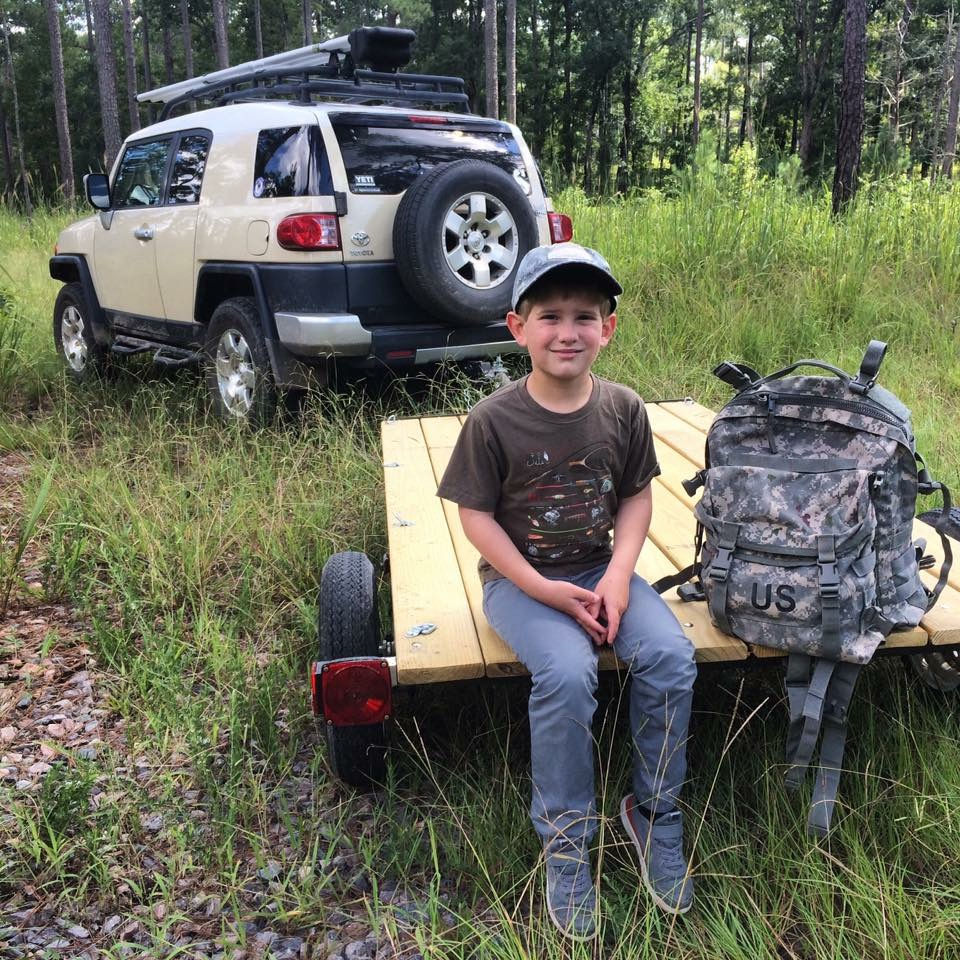 I took my oldest son Cooper on his first real scouting trip....