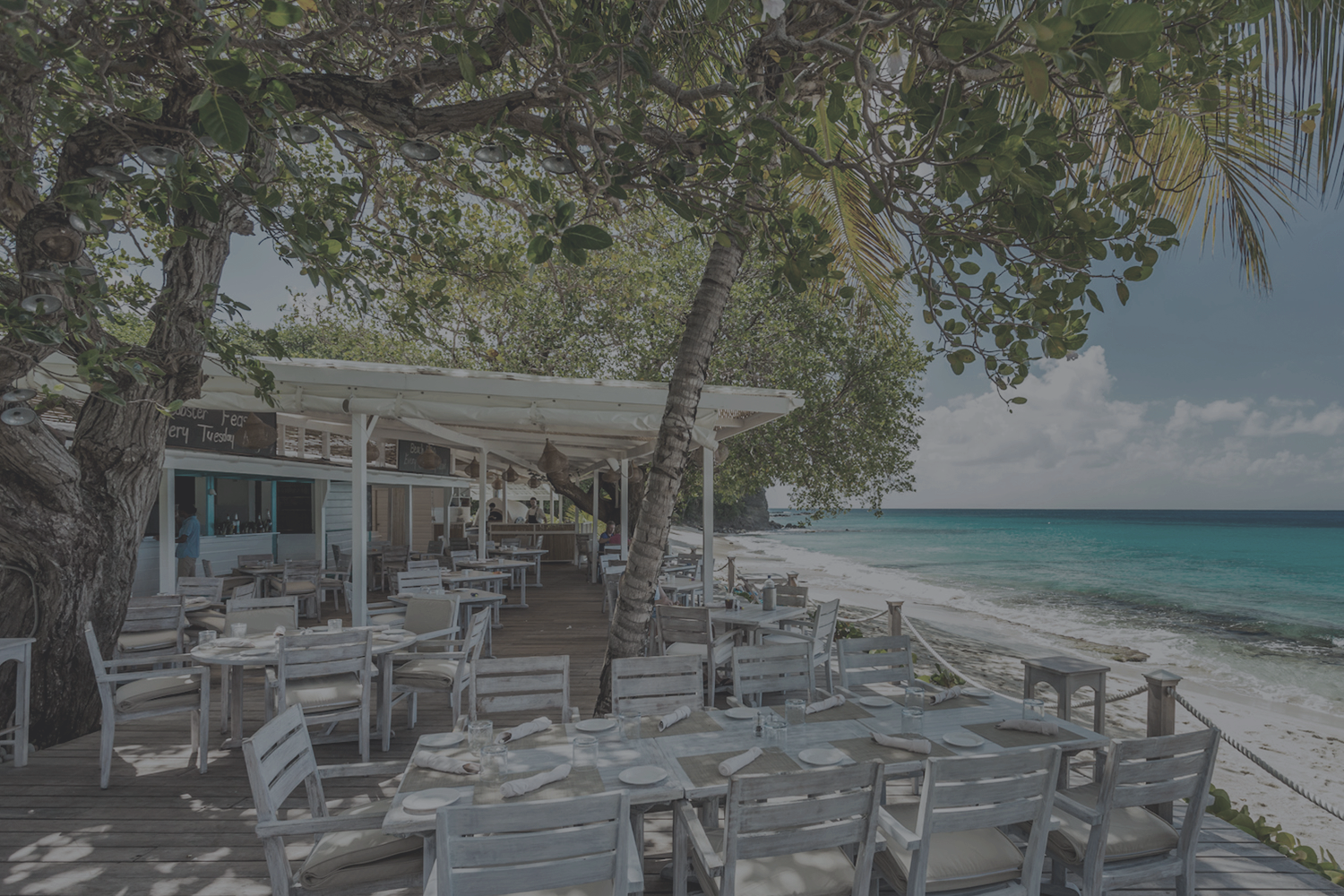 PHOTO: THE BEACH CAFE |COURTESY OF THE MUSTIQUE COMPANY