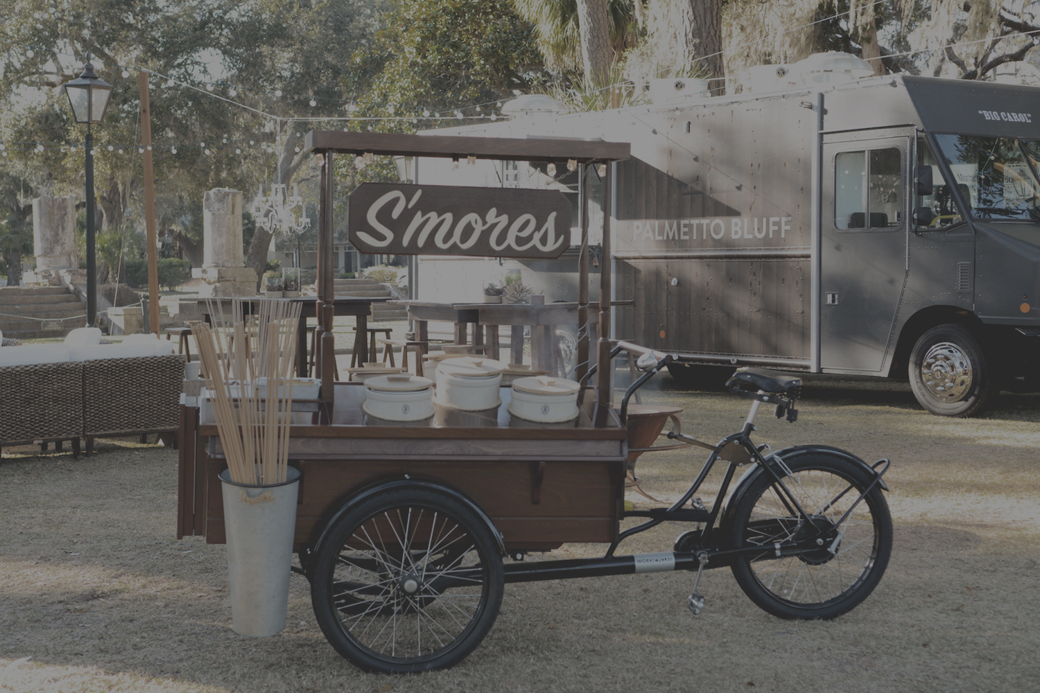 S'MORES CART & FOOD TRUCK | COURTESY OF MONTAGE PALMETTO BLUFF