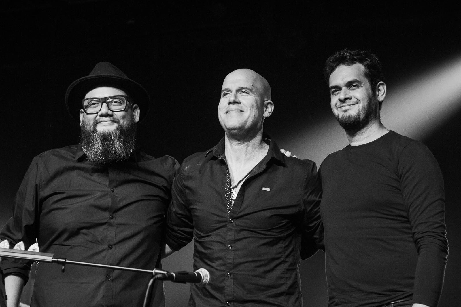 Omar Rojas (bass), Gianmarco Zignago & Pedro Luis Pacora (piano)
