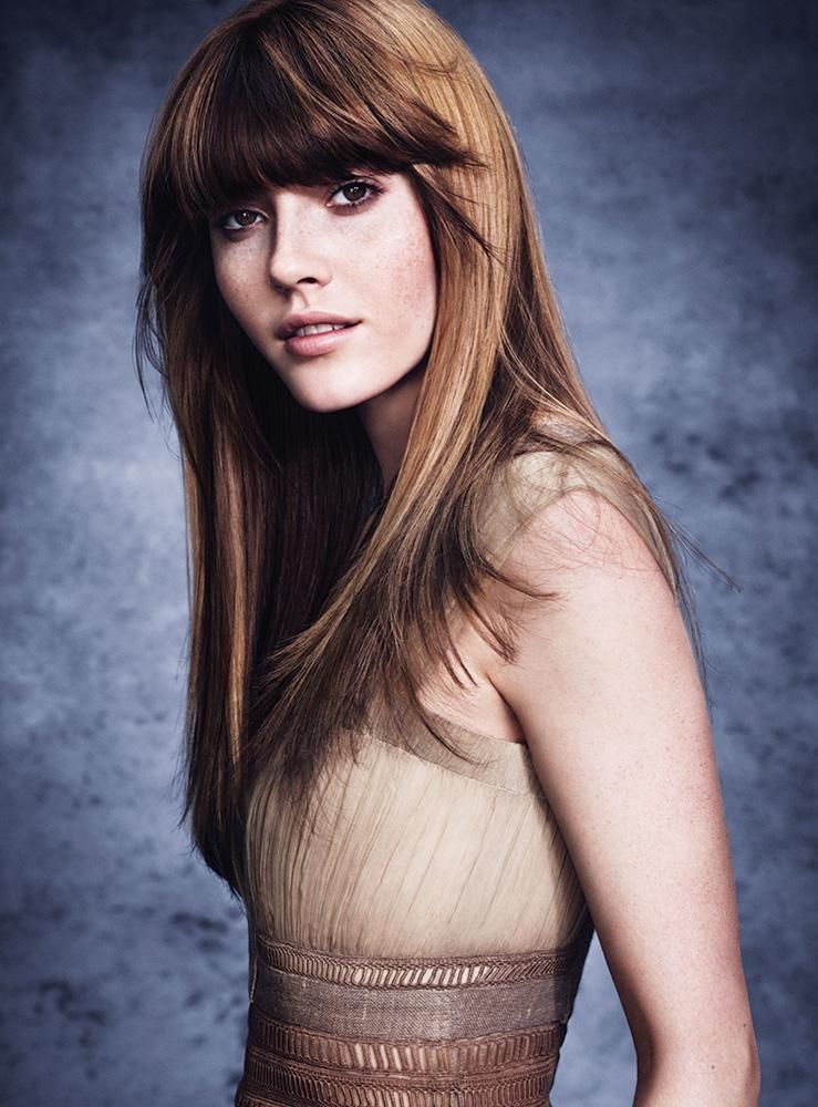 Bangs - are a great way to switch up your style if you don't want a huge change.