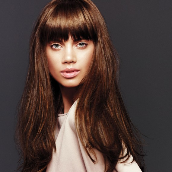 Bangs - can get oily faster that the rest of your hair. Be sure to keep your Aveda Dry Shampoo in your purse!