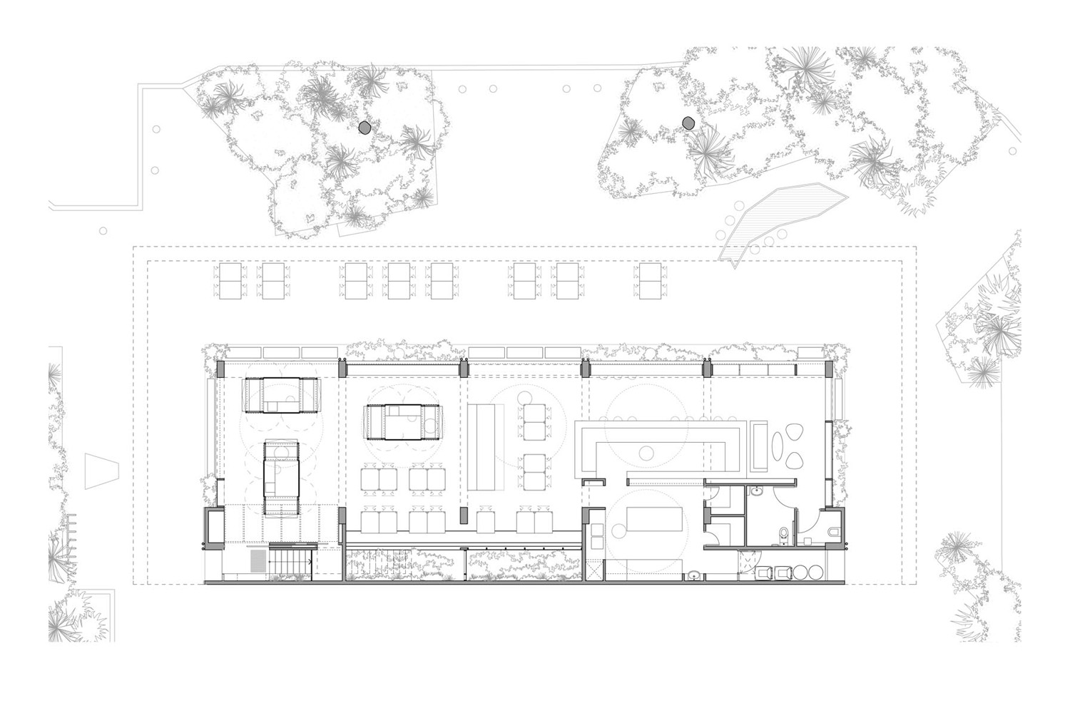 ground floor plan day
