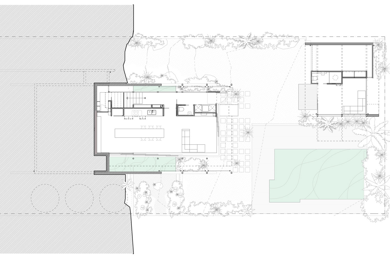 lower ground plan