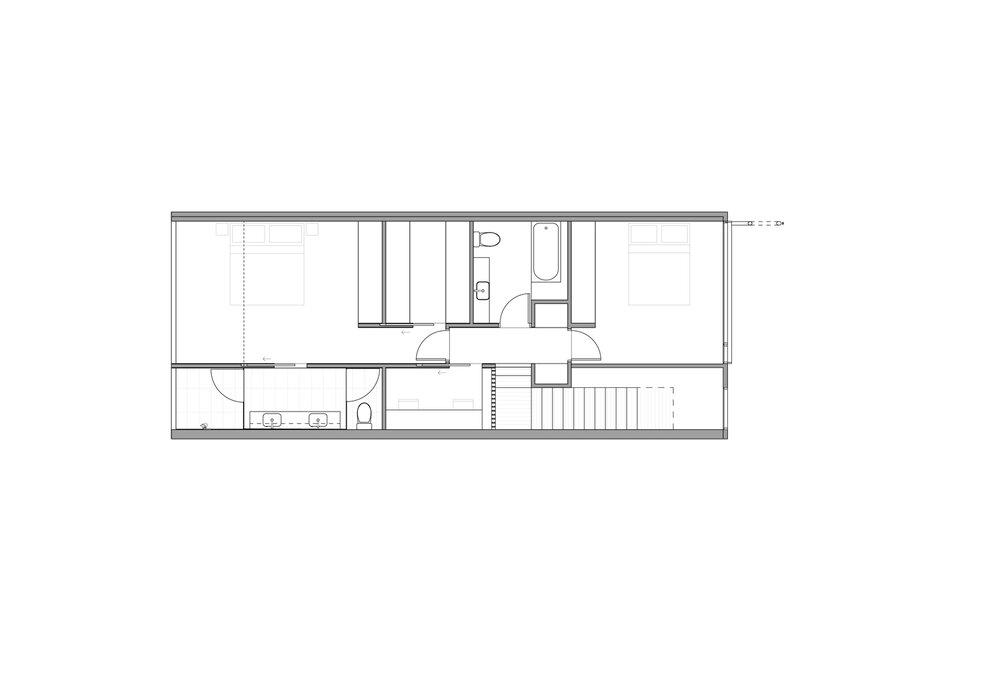 type 2 upper floor plan