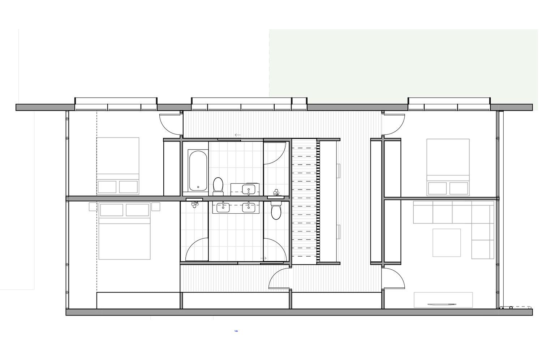 type 1 upper floor plan