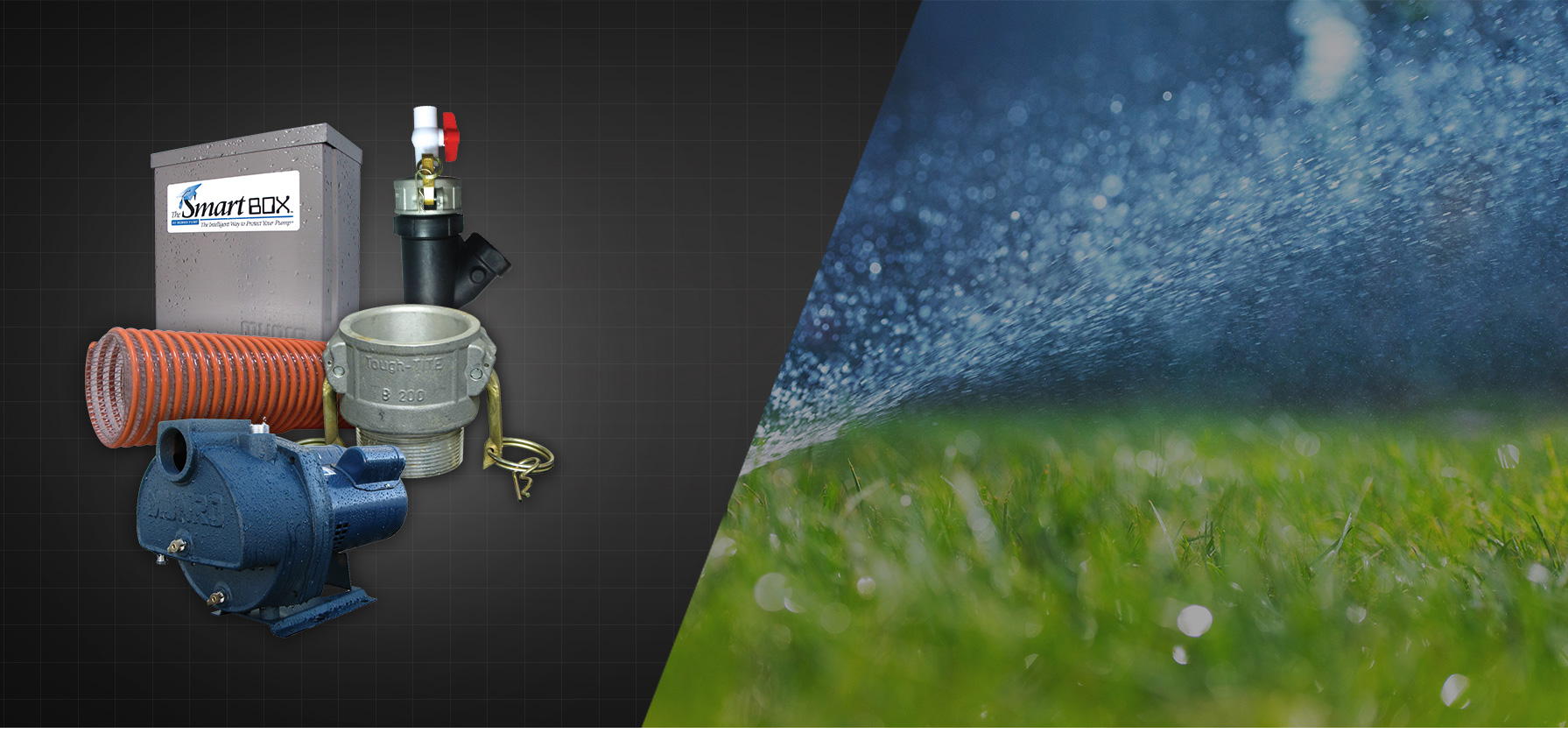 We have you covered   IRRIGATION    Learn More