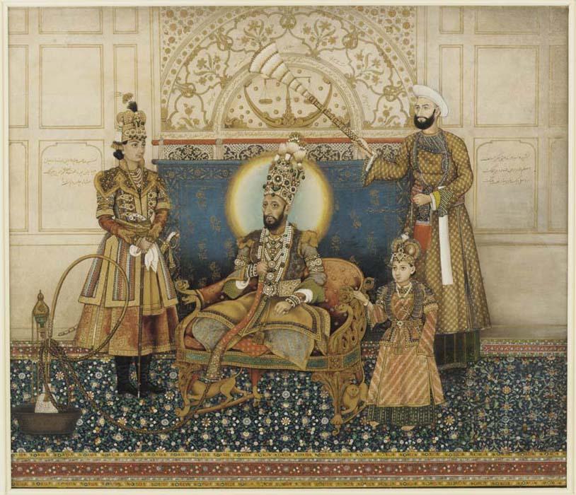 Bahadur Shah Zafar, the last of the Mughal emperors
