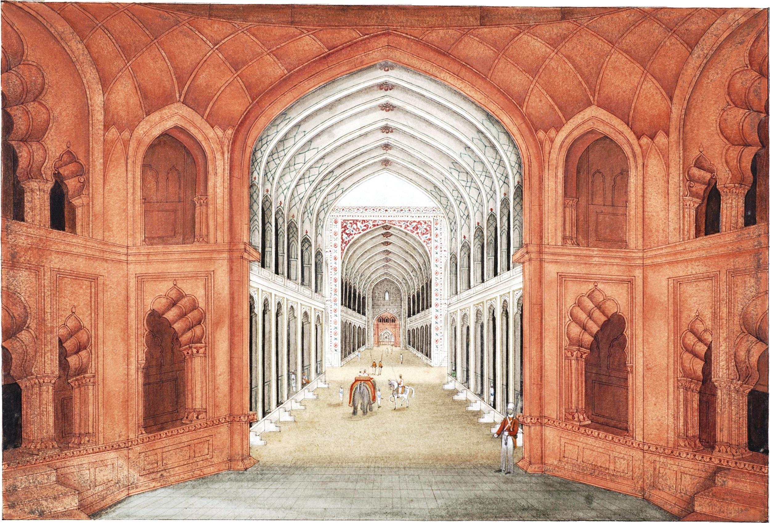 Chhatta Chowk, a passageway lined with a bazaar
