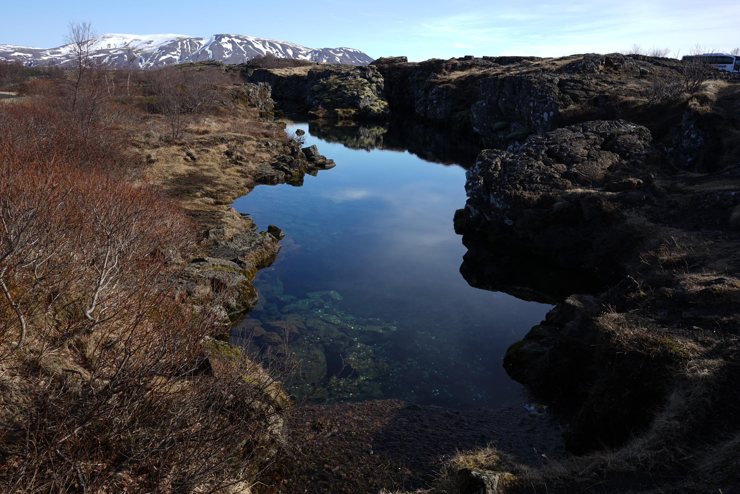 Glacial runoff filtered through lava rock results in some of the cleanest-tasting water ever