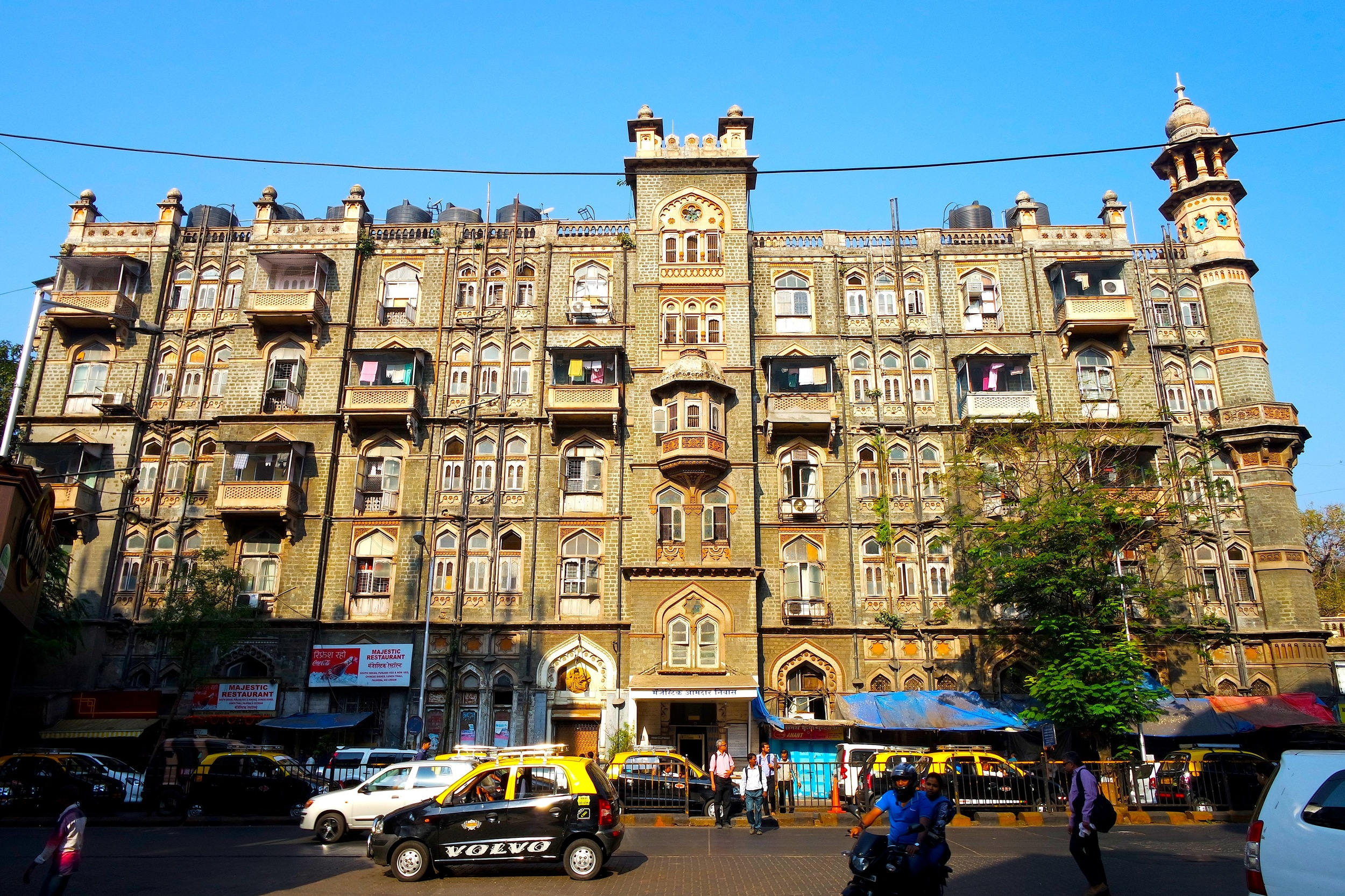 One of the many impressive buildings in Mumbai, India