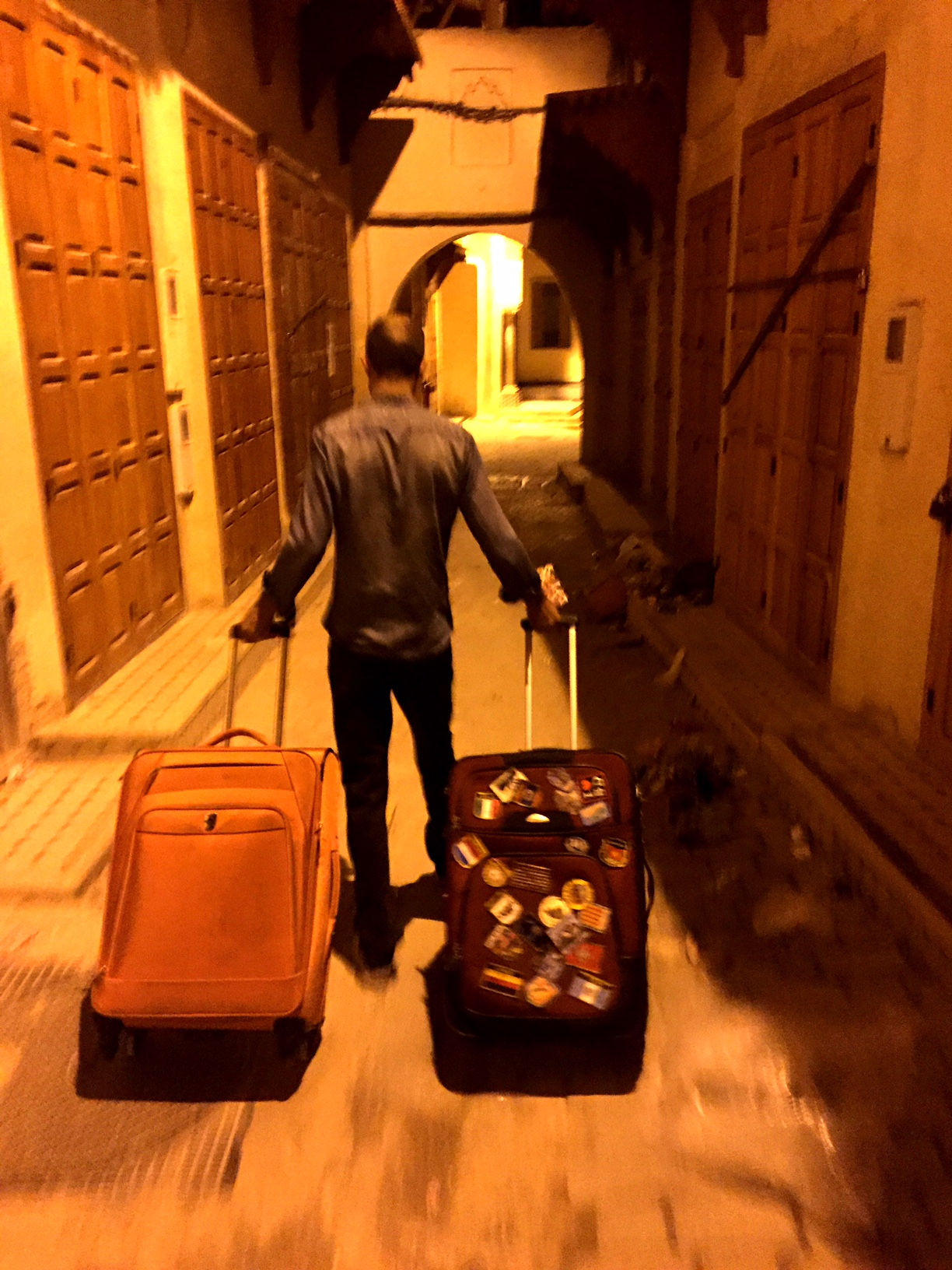 Leaving Fès was sad — but a heck of a lot easier than getting there