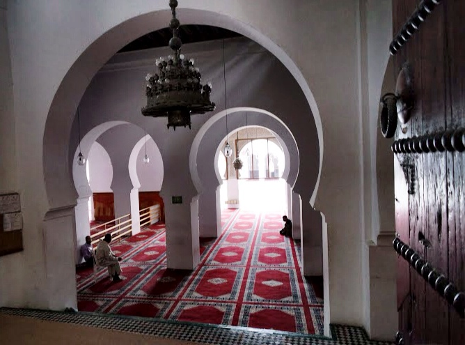 The Al Quaraouiyine University contains a mosque — so it's not open to non-Muslims