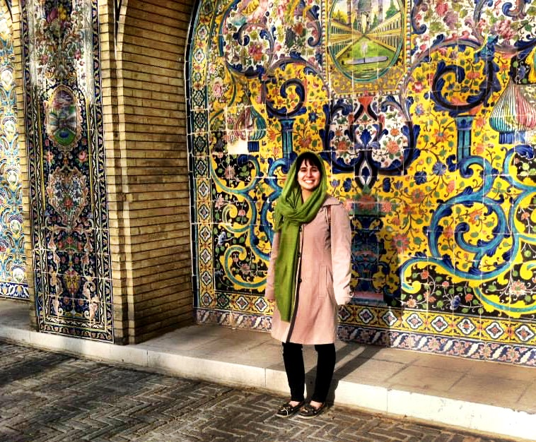 Alma wanted to honor her Iranian heritage and visit the family members she had never met