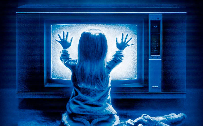 Get away from the TV, Carol Anne! The poltergeist is gonna get you!