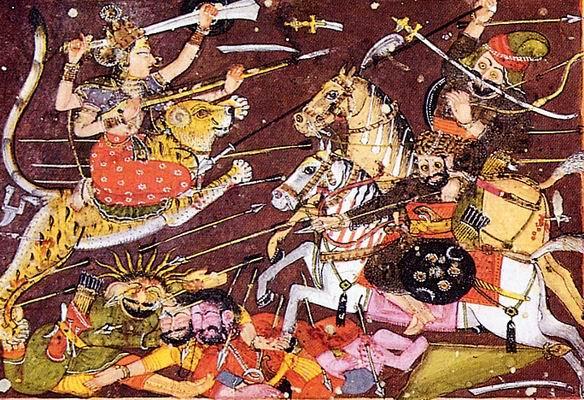 Good battles evil in many Zoroastrian myths
