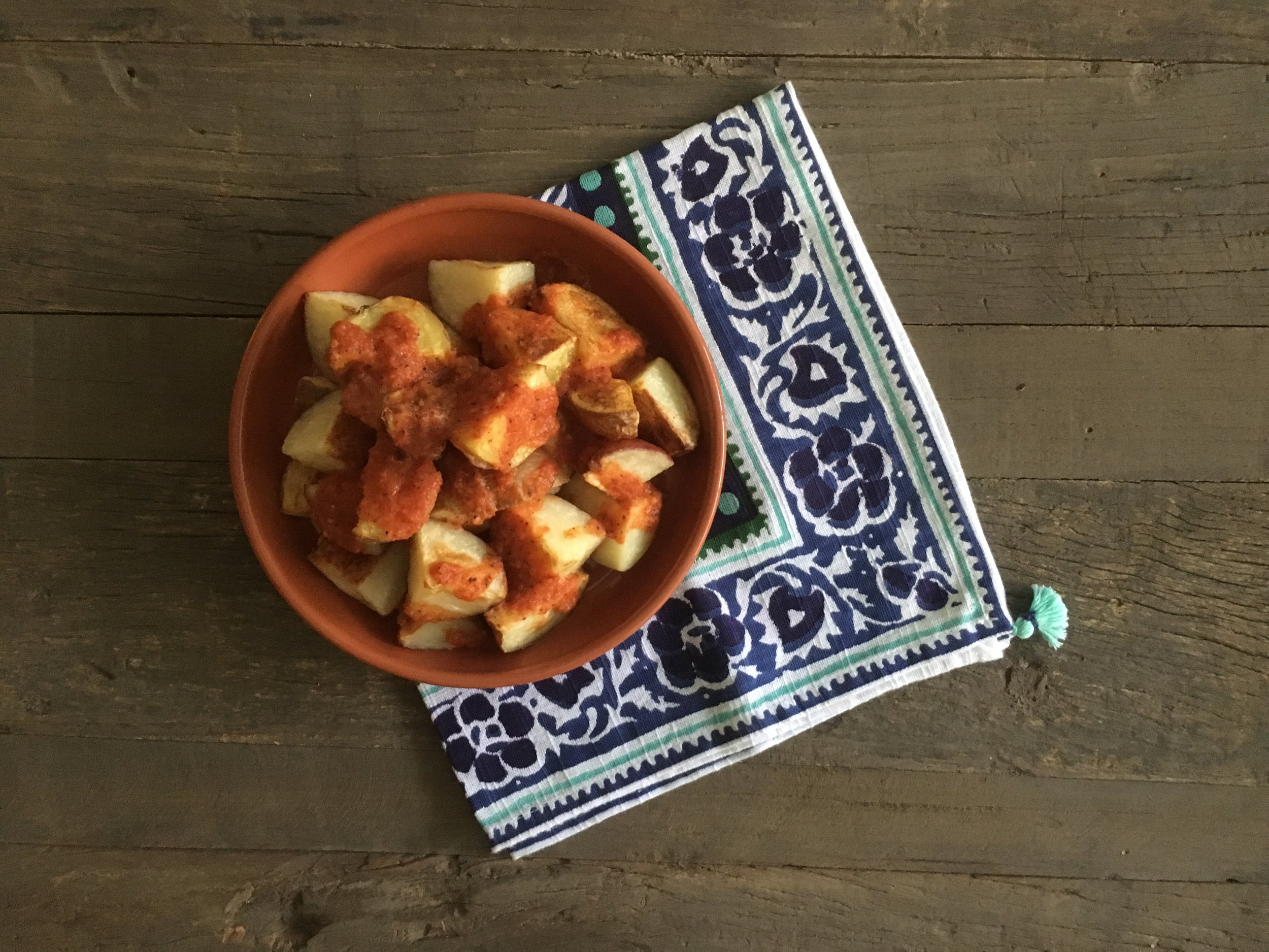 Move over, french fries. Patatas bravas is the new perfect side dish