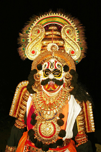 The Hindu demon rakshasha is known for tearing people apart