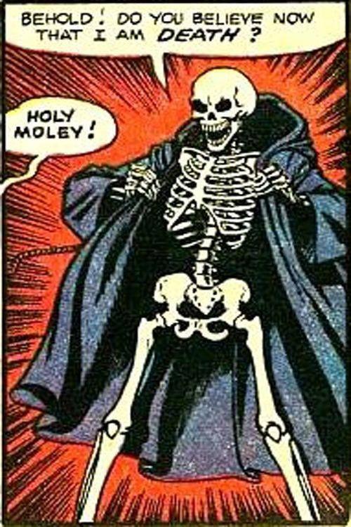 A reaper reveals itself