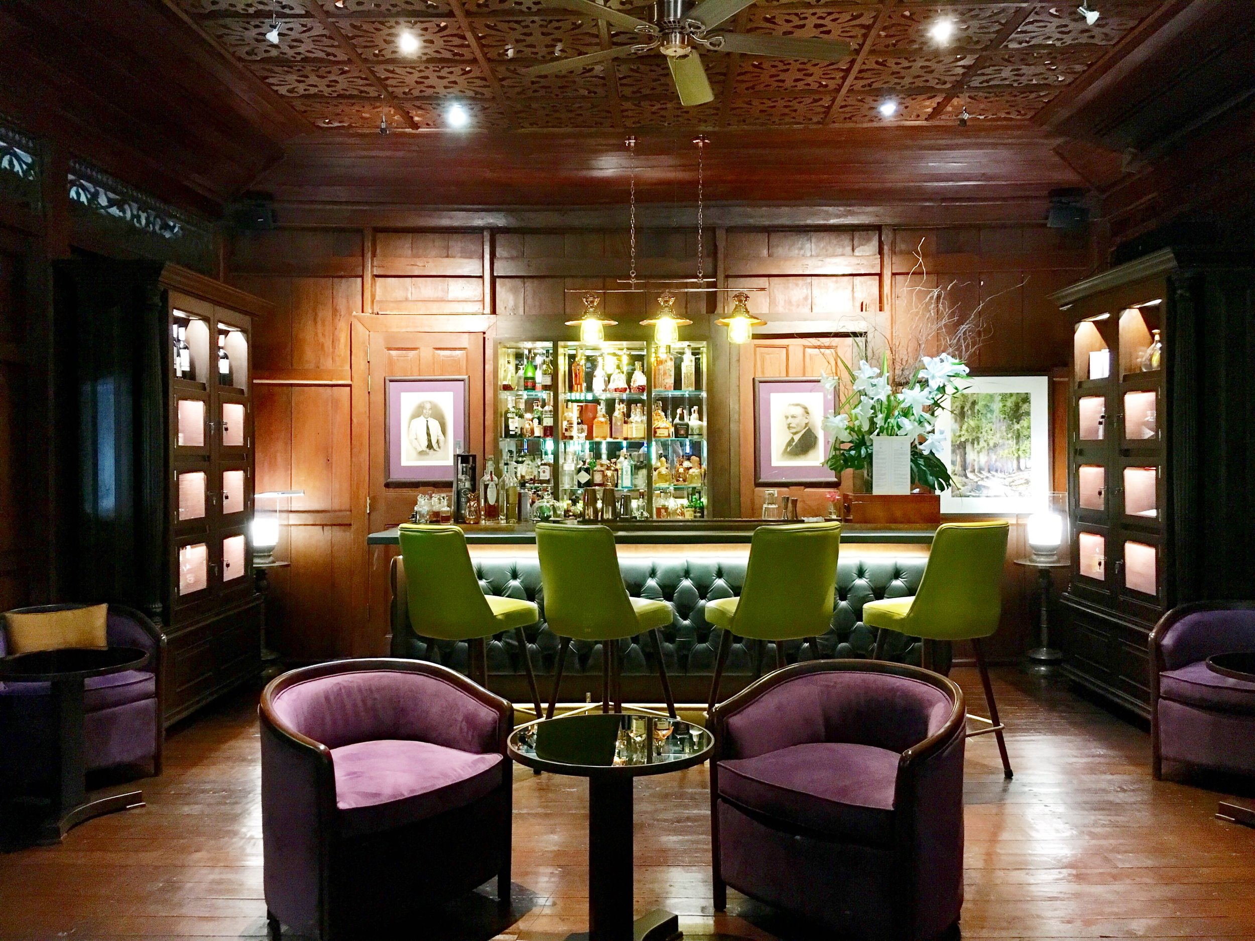 The Jack Bain's Bar got a whole new look (and an actual bar!) last year