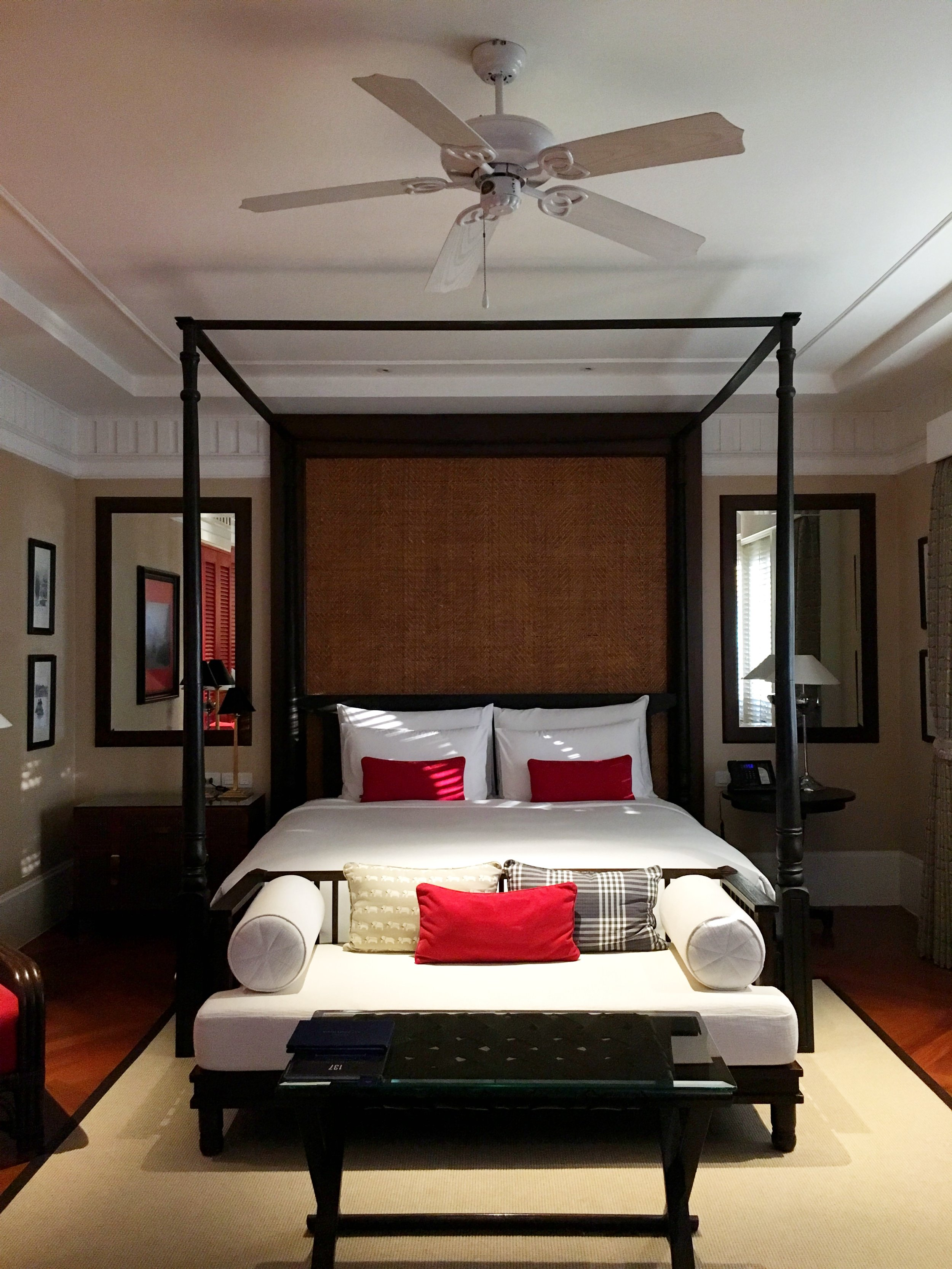 The Leonowens Suite's bedroom