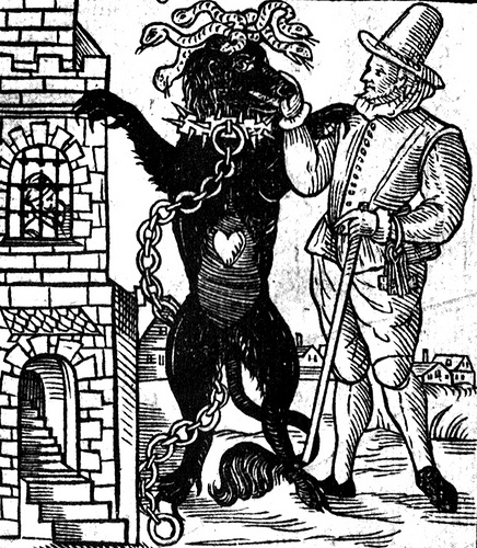 The Black Dog of Newgate has haunted the prison for 400 years, appearing before executions