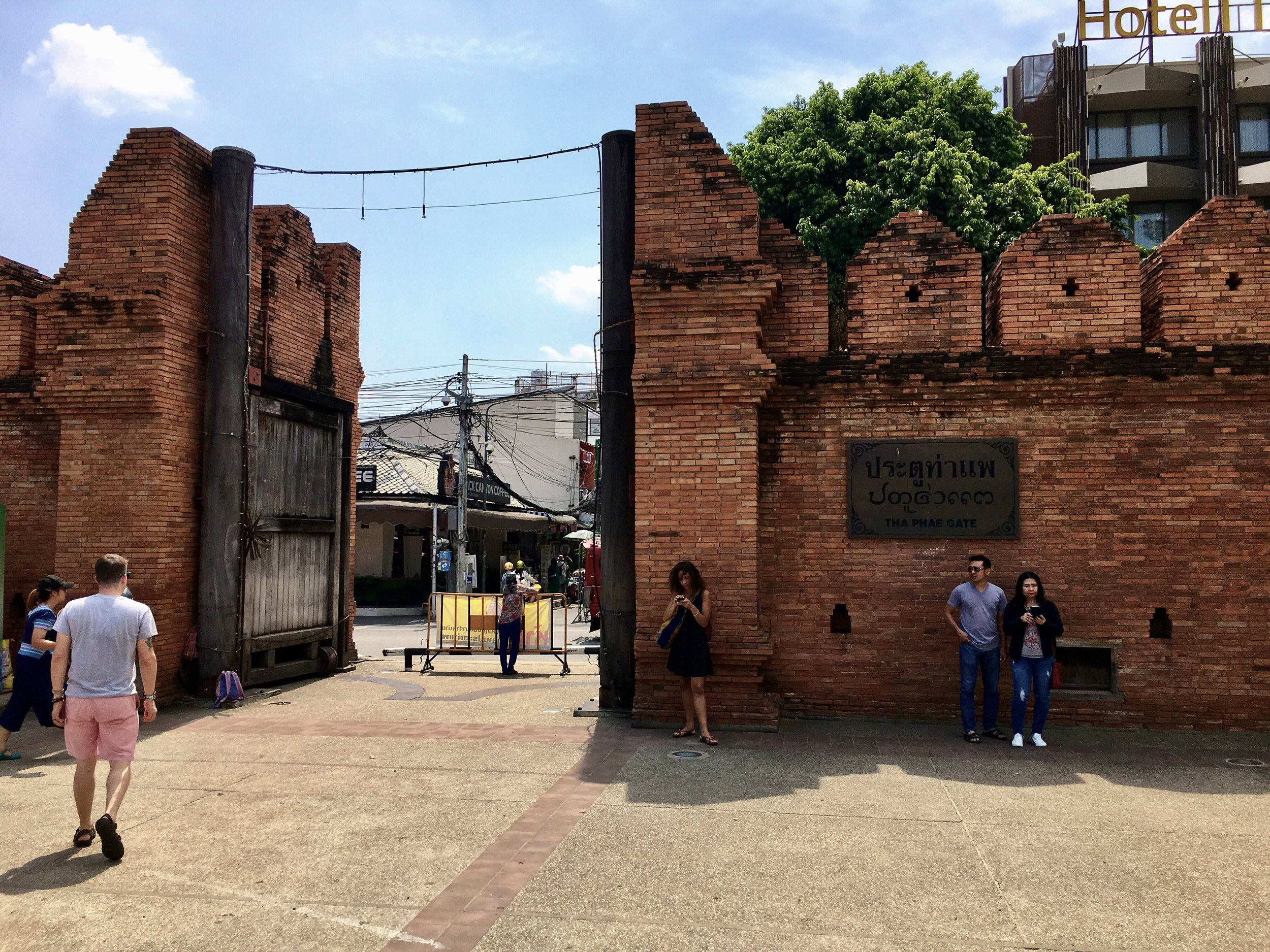 The ancient ramparts that surround the Old City still stand (mostly)