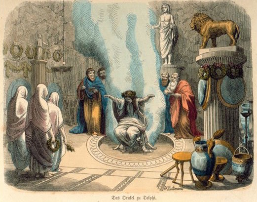 One of the first recorded psychics in the world was the Oracle at Delphi, whose cryptic messages were much sought after