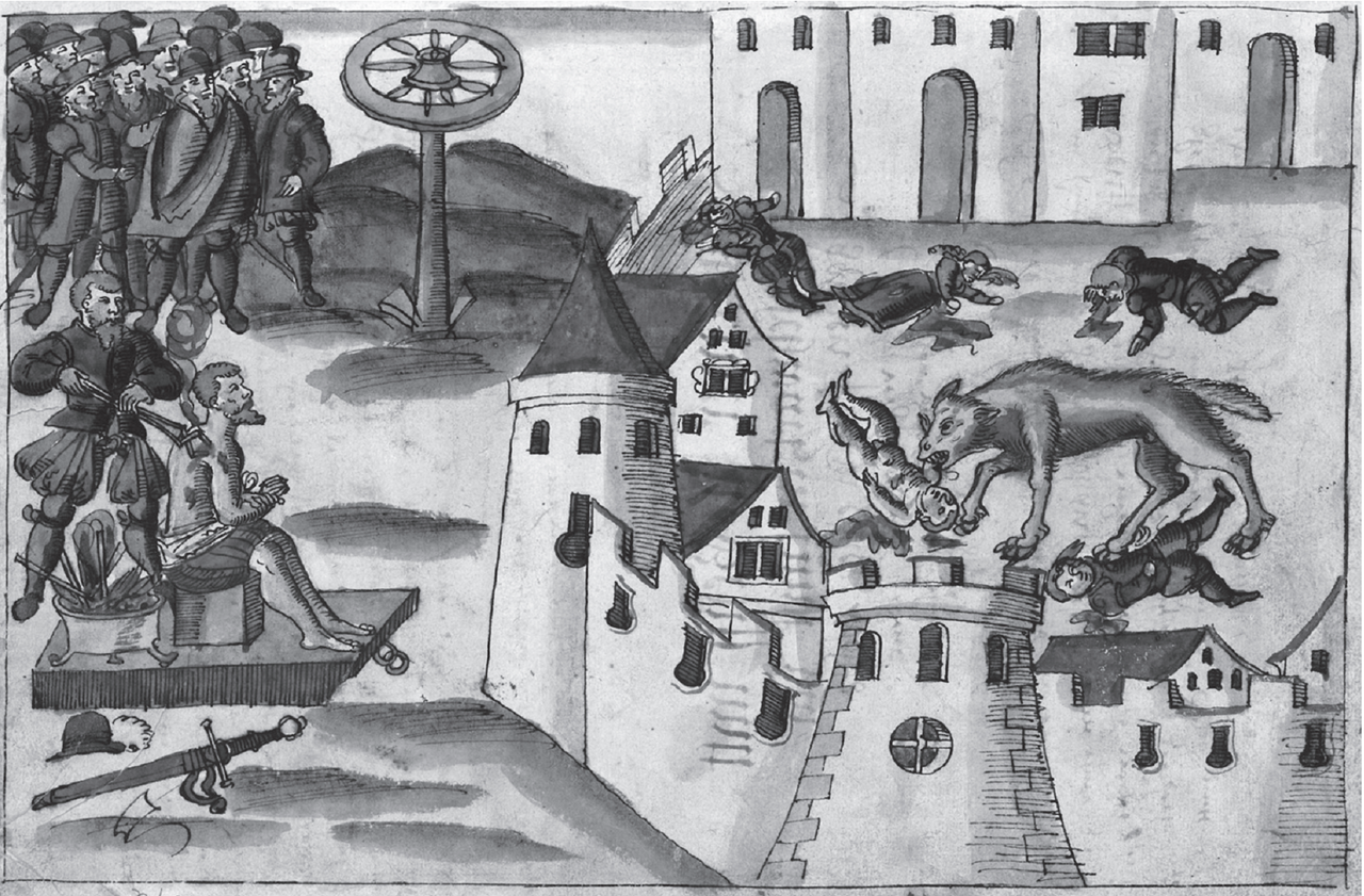A Werewolf in Geneva , 1580