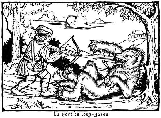 Death of the Werewolf.  I hope that arrow has a silver tip on it!