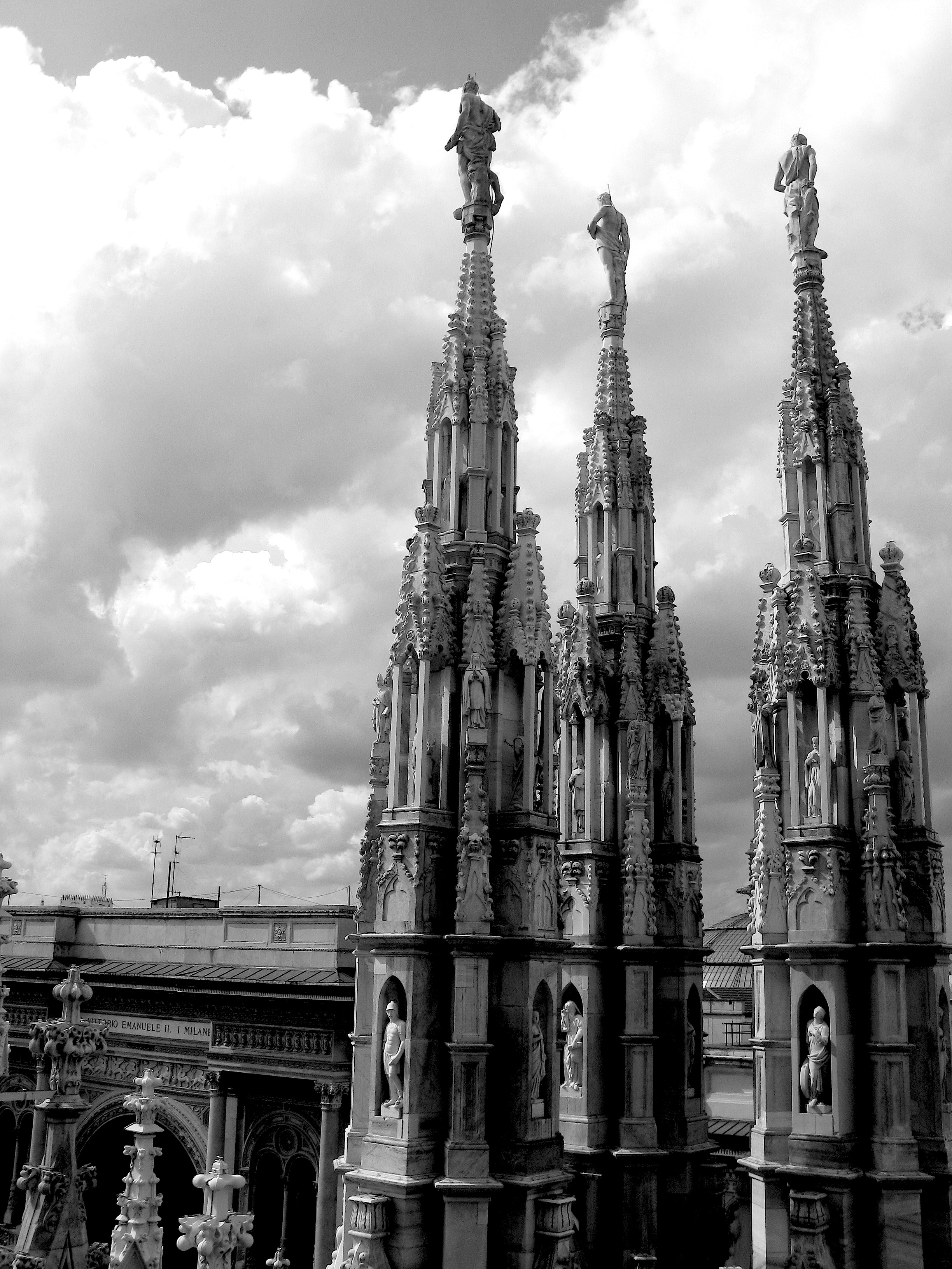 The best part of the Milan Cathedral is its expansive rooftop