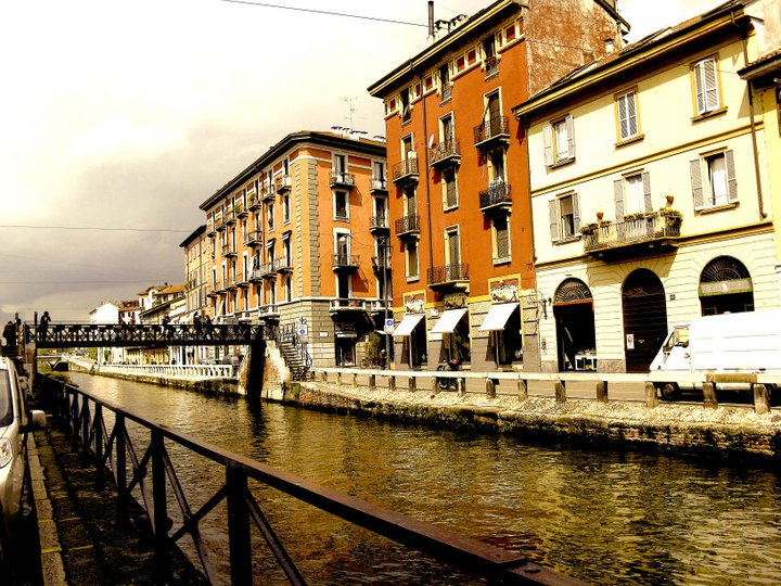Milan's Navigli District is a restaurant and art hotspot