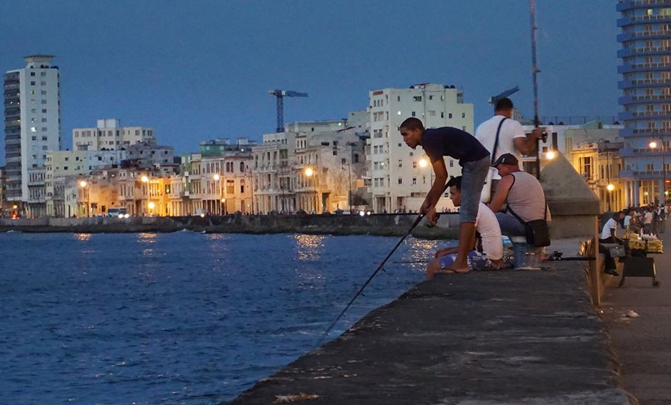The Malecón, Havana's waterfront district, is popular with the gays