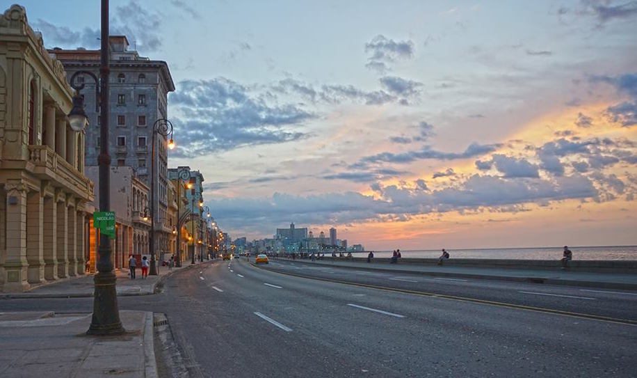 The Malecón is the best spot to watch the sunset — and to pick up a prostitute!