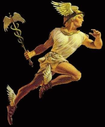 Hermes, the Greek god of travel and thieves, is also a trickster