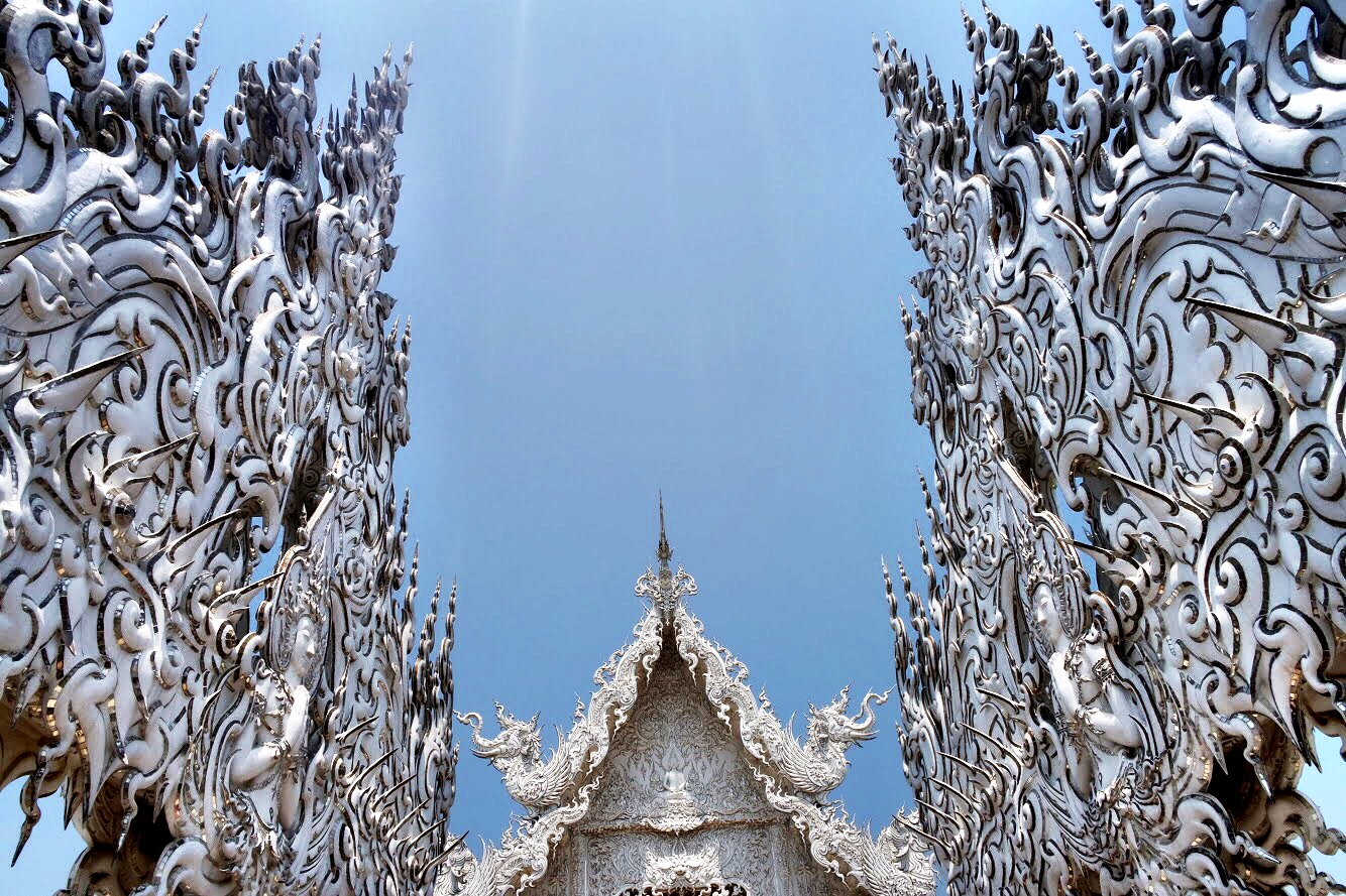 The White Temple is the singular vision of the once-controversial artist, Kostipipat