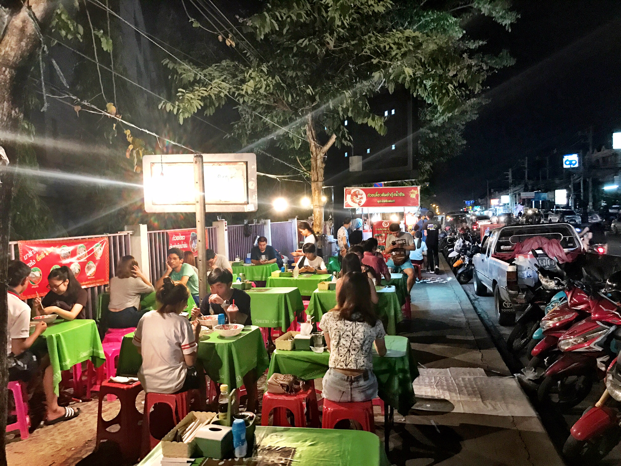 Local dishes galore along Suthep Road