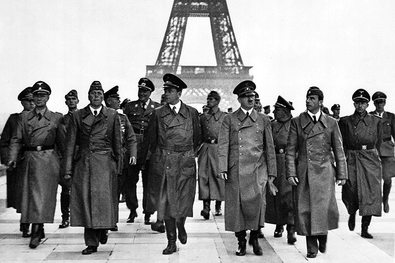 Hitler and the Nazis played a part in the history of the Eiffel Tower
