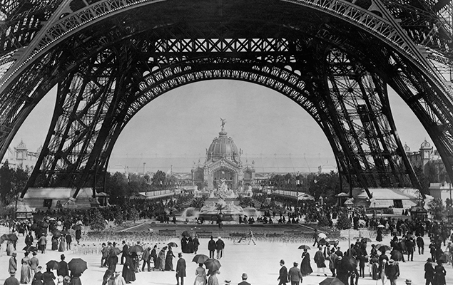 The Eiffel Tower was built for a World's Fair and has become one of the most-visited monuments on the planet