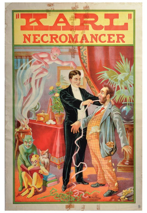"Necromancy, which comes from the words for ""dead divination,"" is a fun, if dangerous, pastime"
