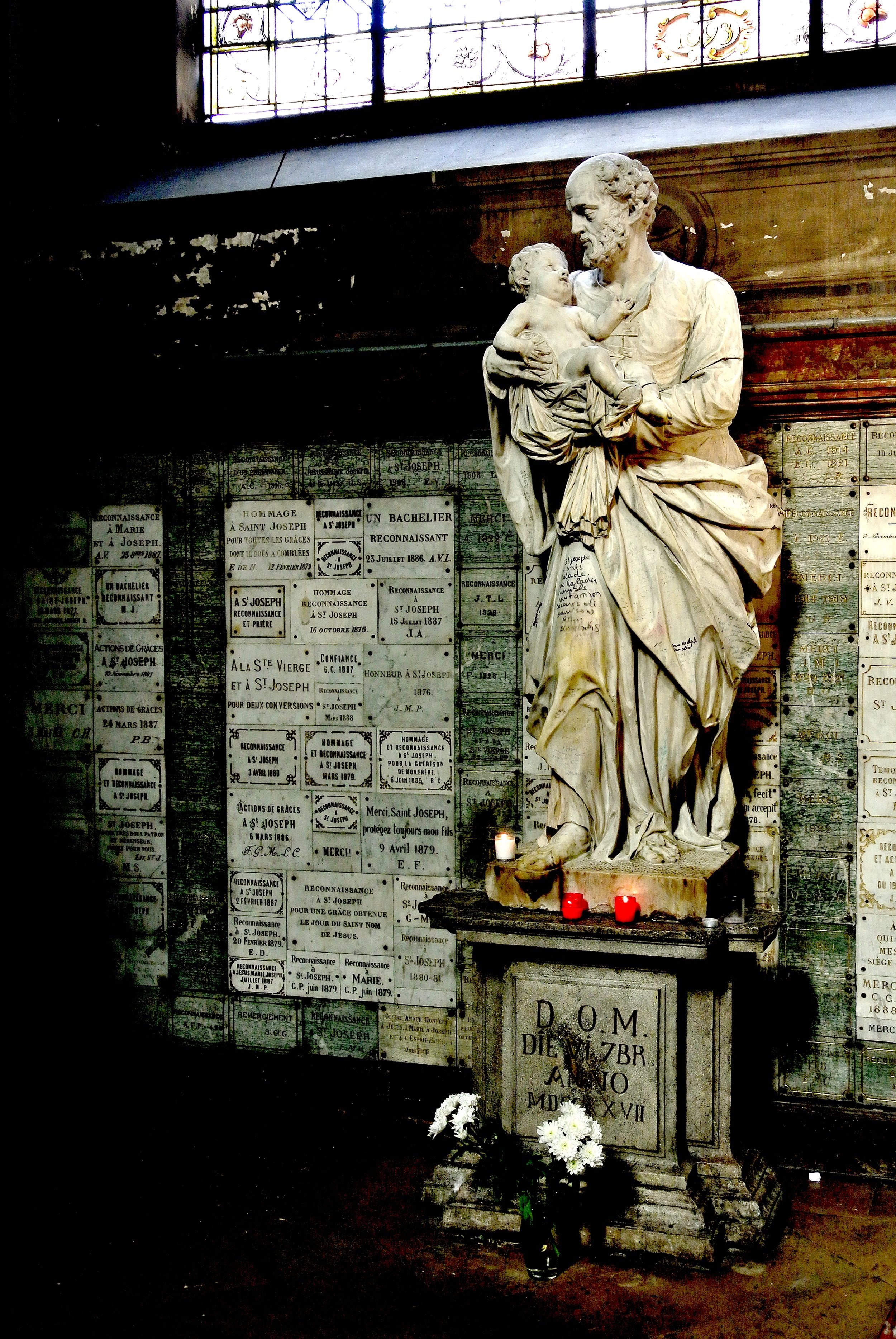 A funerary niche at Saint-Sulpice