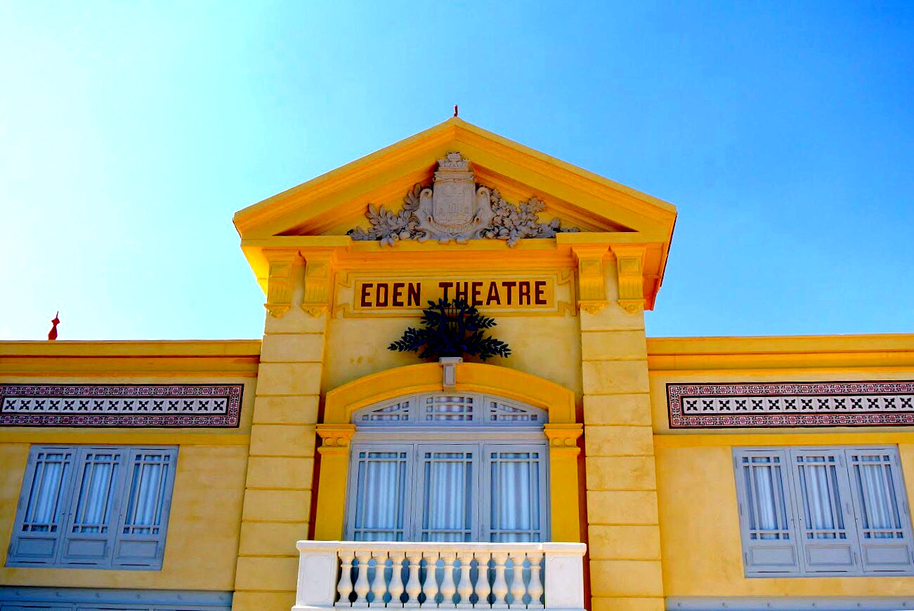 Eden Théâtre, where the first movie was screened
