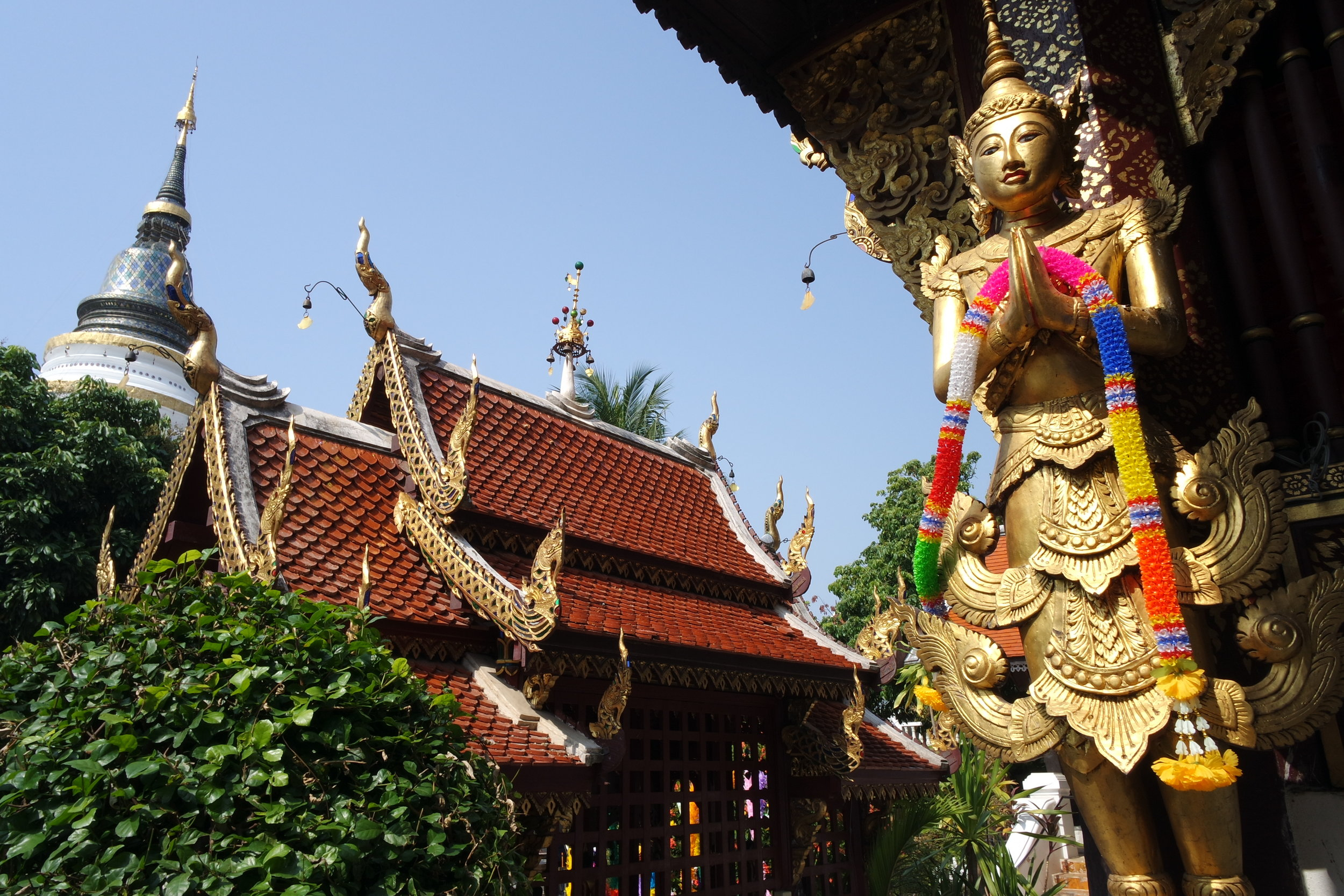 The entire complex of Wat Ket Karam is gorgeous and fun to explore