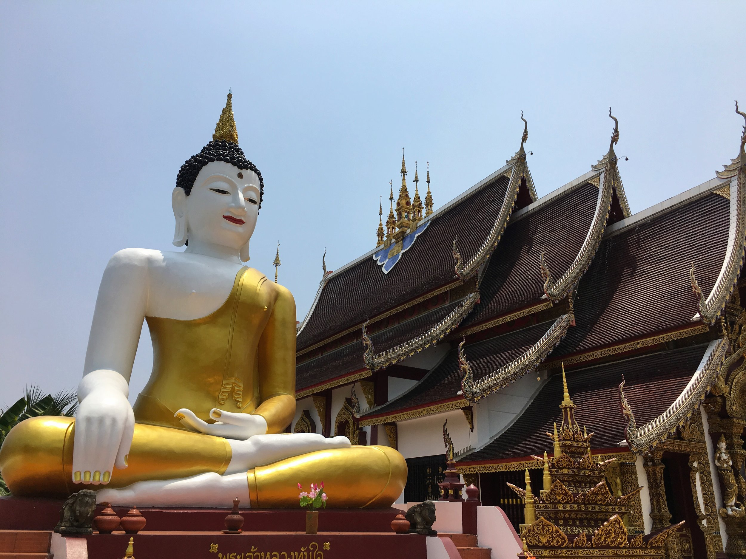 Wat Rajamontean is nicknamed the Big Buddha Temple for obvious reasons
