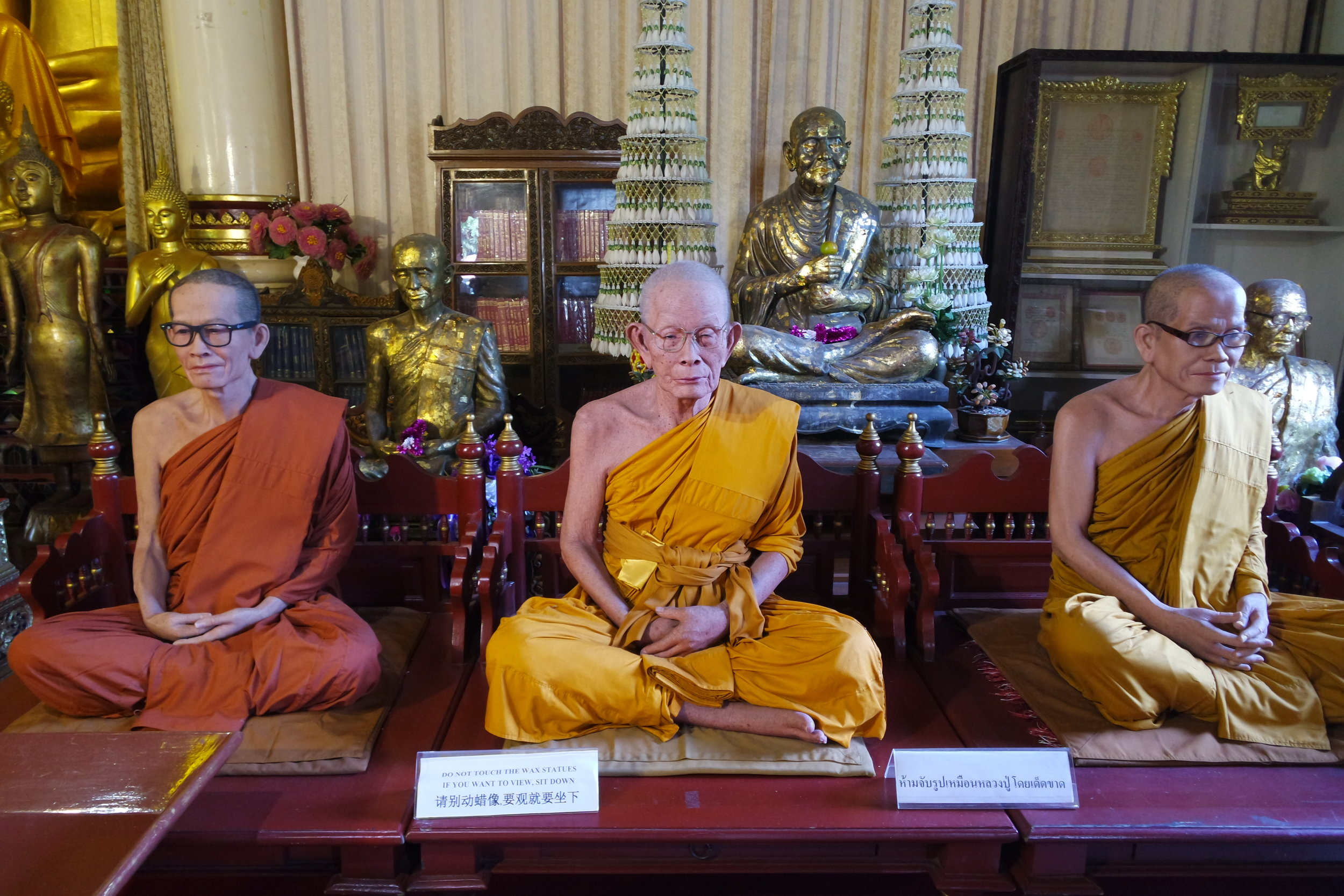These monks sure can sit still