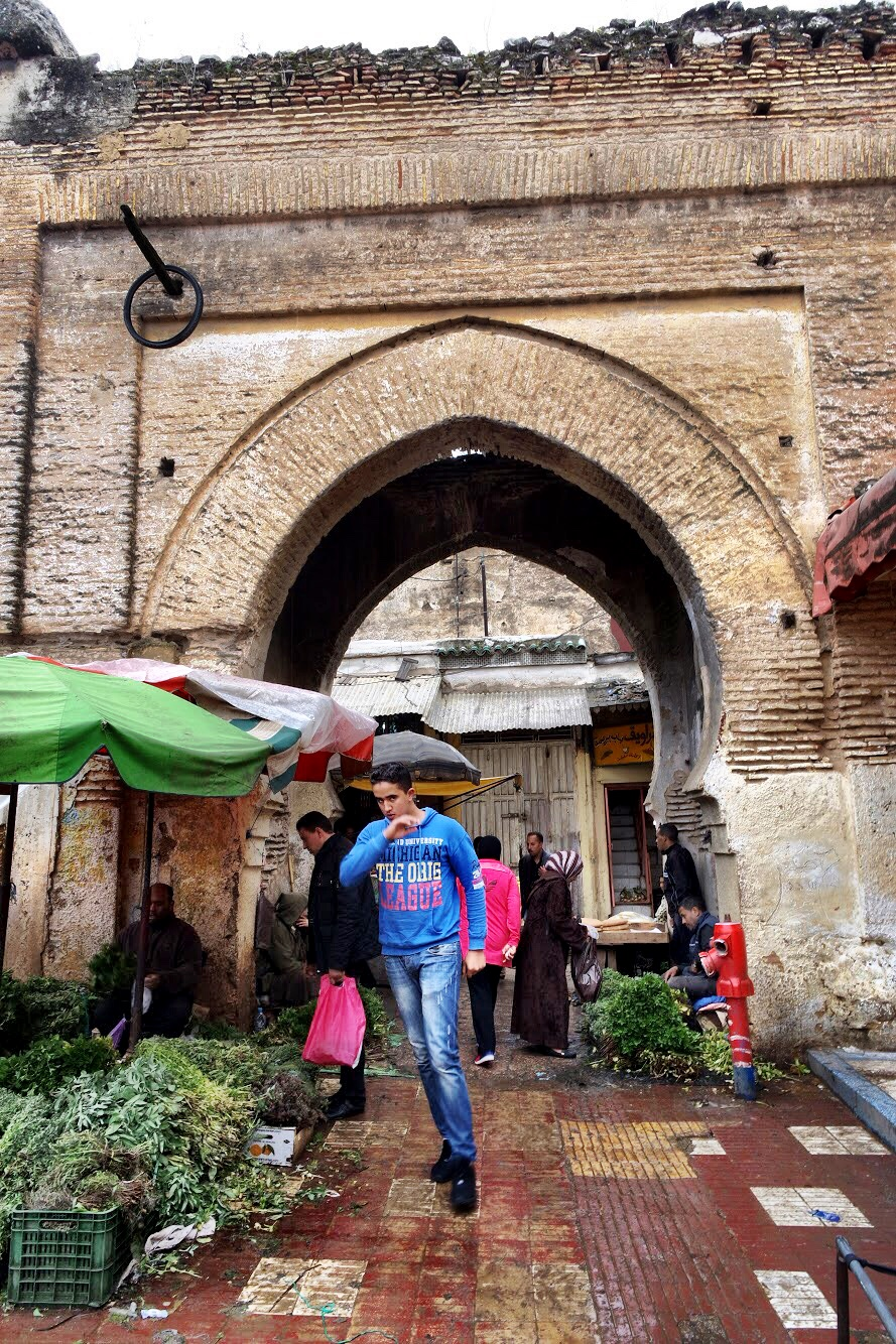 Meknès is much less touristy — and much easier to navigate — than Fès