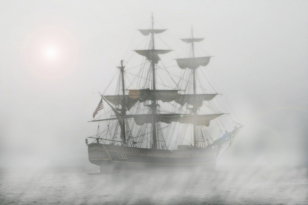 Ghost ships have been sighted for centuries